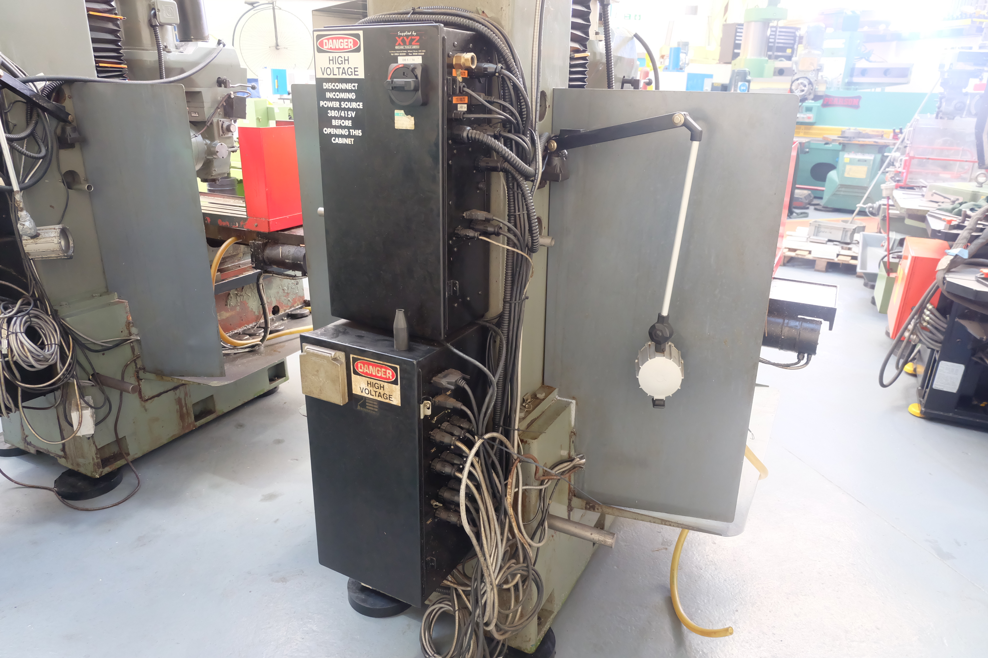 "2 x XYZ Type DPM Milling Machines Table 42"" x 12 1/2"". Prototrak MX3 Control. For Spares or Repair. - Image 8 of 21"
