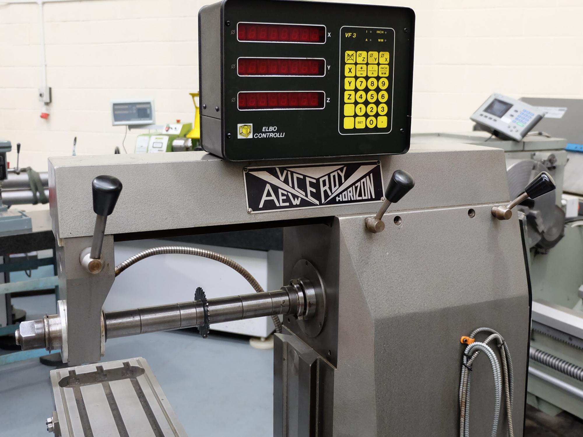 Veceroy AEW: Horizontal Milling Machine. - Image 3 of 10