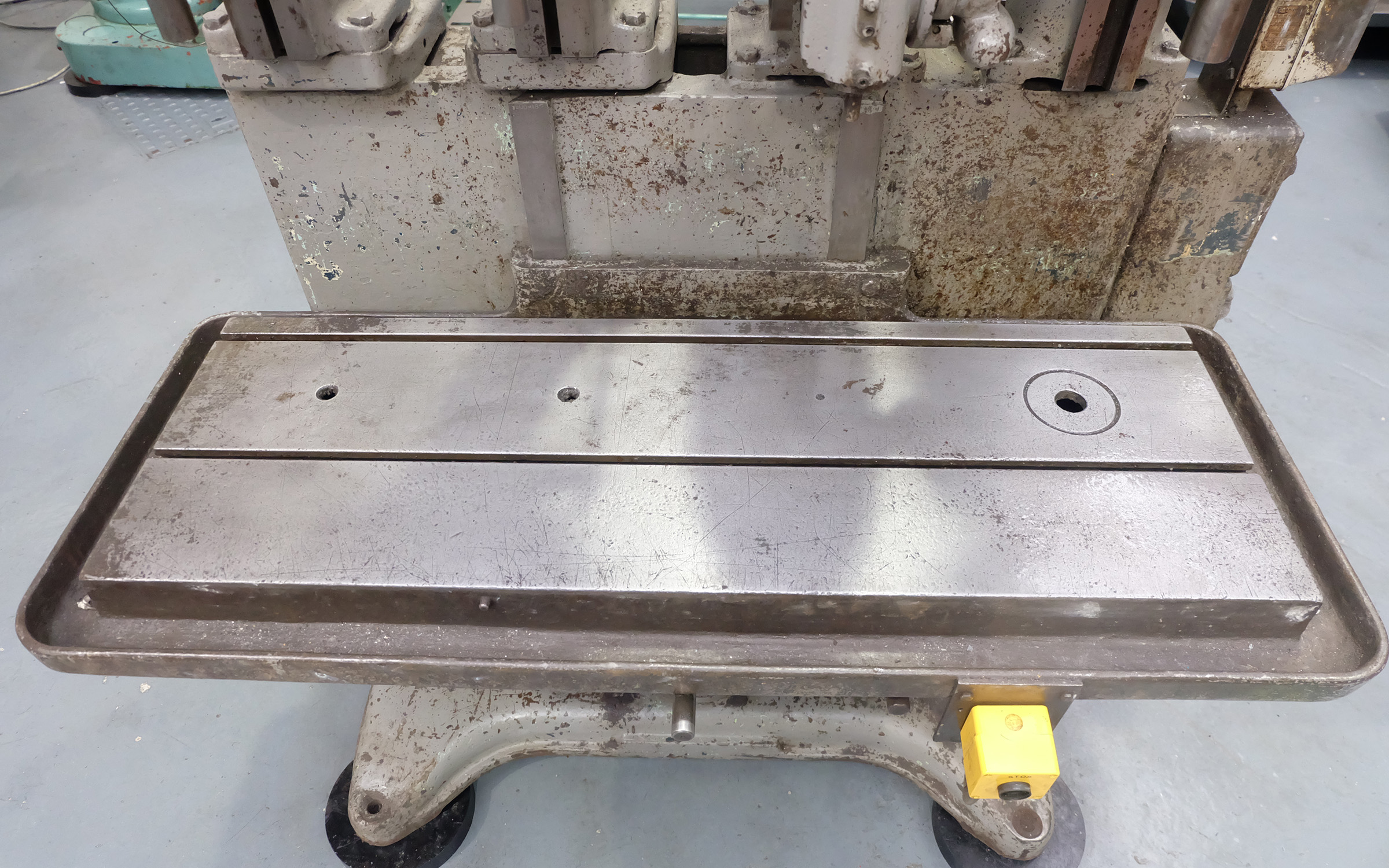 Herbert 4 Spindle In Line Drill. Table Size 46'' x 15 1/2''. - Image 7 of 10