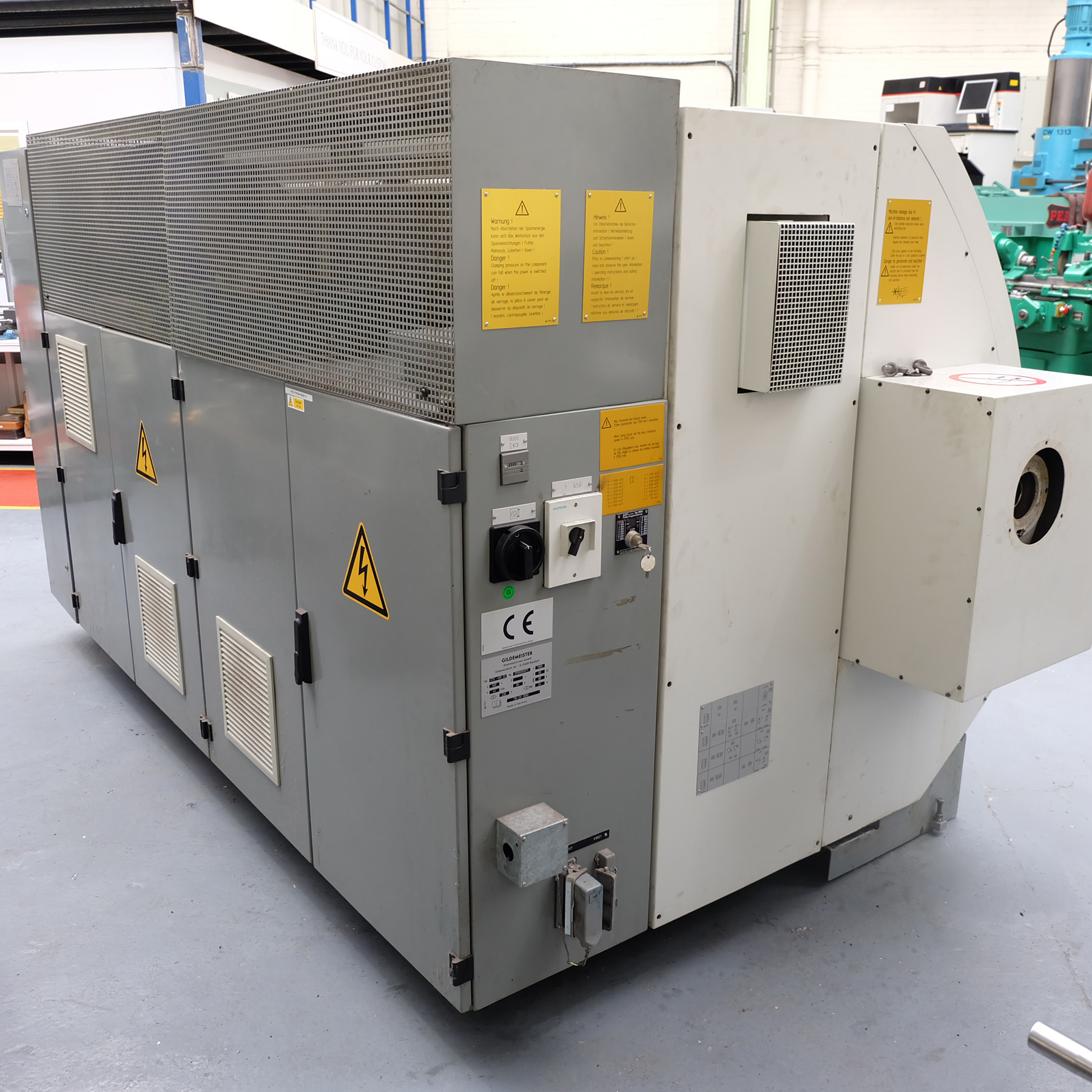 Guildermeister CTX-400 S2. CNC Turning & Milling Centre. With Heidenhain Pilot Control - Image 12 of 17