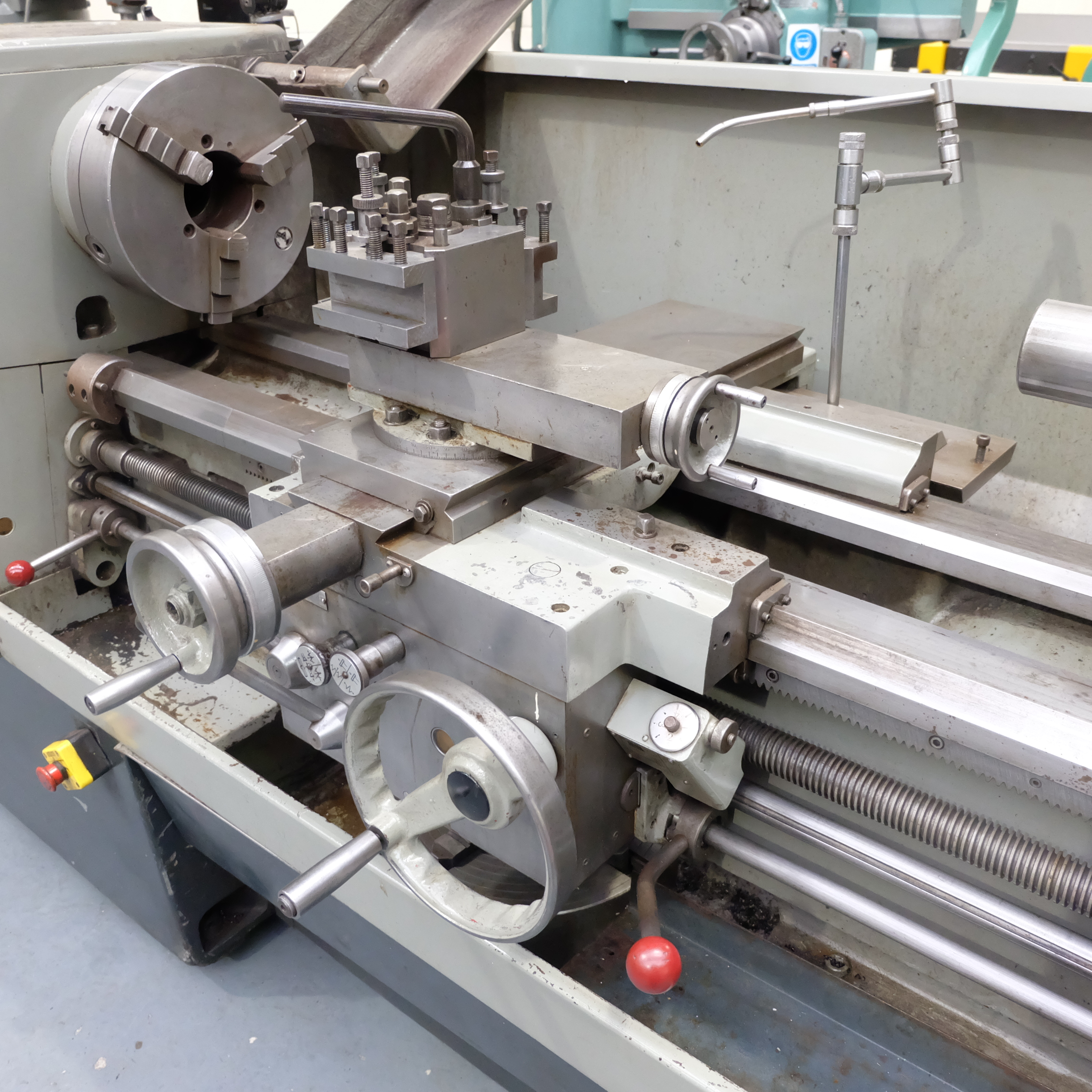 Colchester Mascot 1600 Gap Bed Centre Lathe. - Image 6 of 10