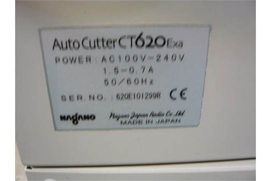 Morgana cardxtra auto cutter model ct620exa business card cutting next reheart Images