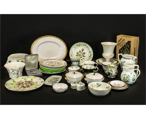 Collection of Assorted Porcelain & Pottery to include a Wedgwood 'Coronation' Jug and a Wedgwood Coronation Mug dated 195