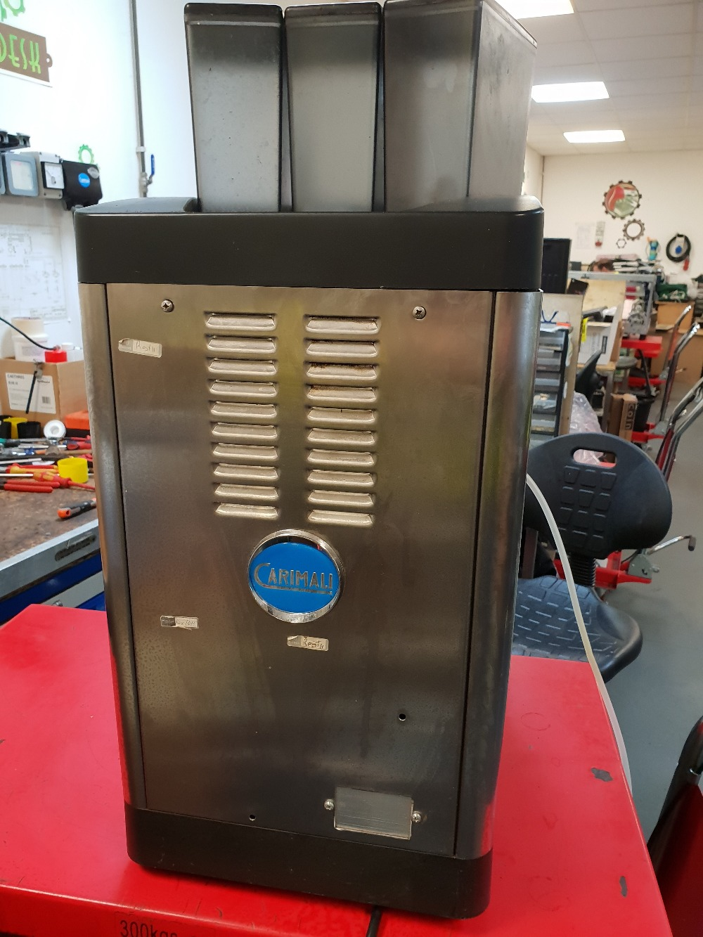 Lot 20 - Carimali Solar Touch Drinks Machine – Bean to cup Coffee + Chocolate & Other DrinksThe Carimali