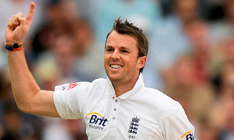 Lot 149 - Go To A Test Match With Graeme Swann