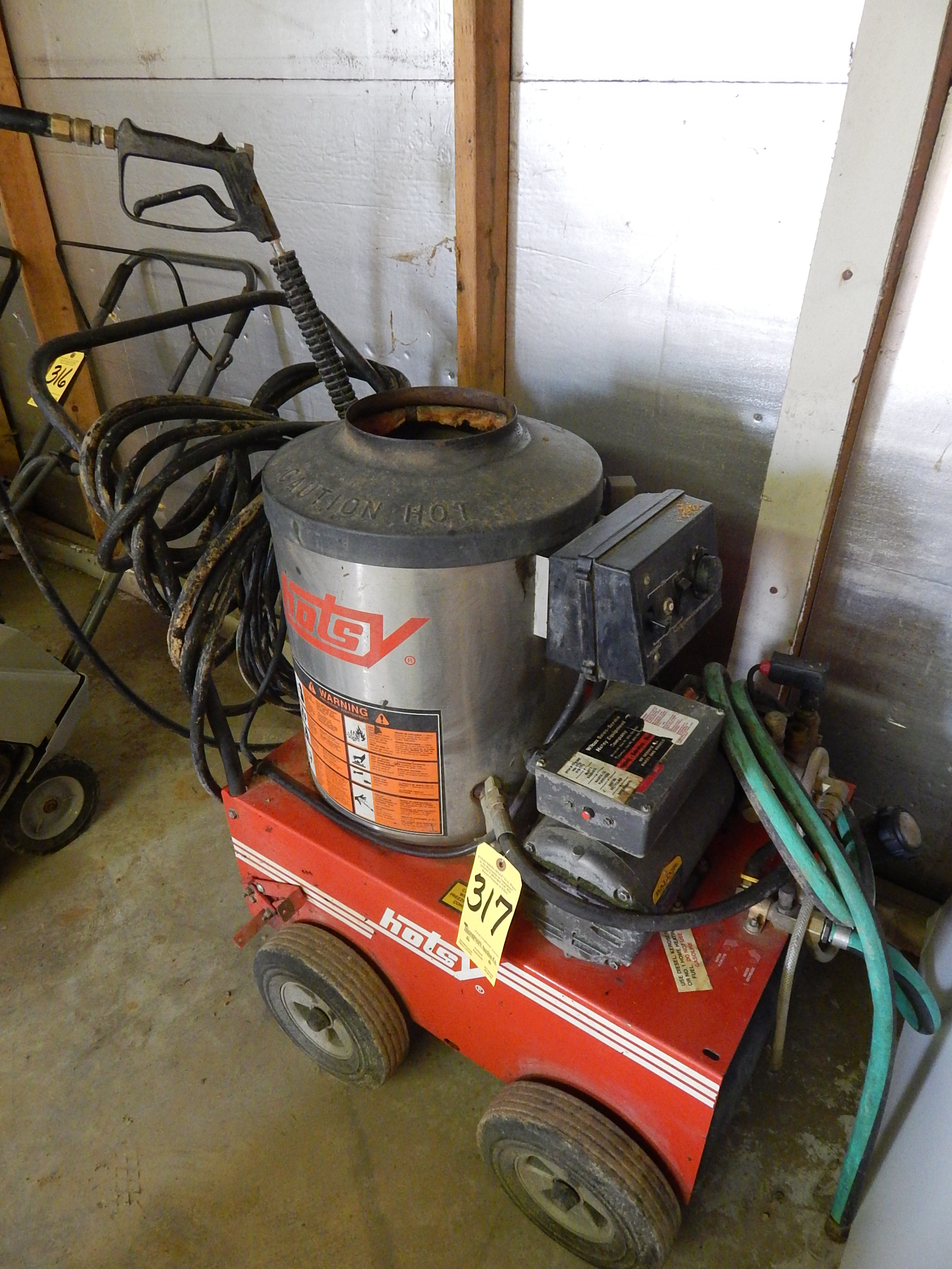 Hotsy Electric Pressure Washer For Sale Not Lossing Wiring Diagram Hot Water Diesel Kerosene Fuel Oil Rh Bidspotter Com Washers Commercial