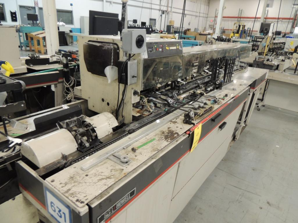 Lot 45 - Bell and Howell Mailstar 450- C6 Inserter System, 6 Pocket, 6 in. x 12 in. Capacity, S/N 42-6131, (2