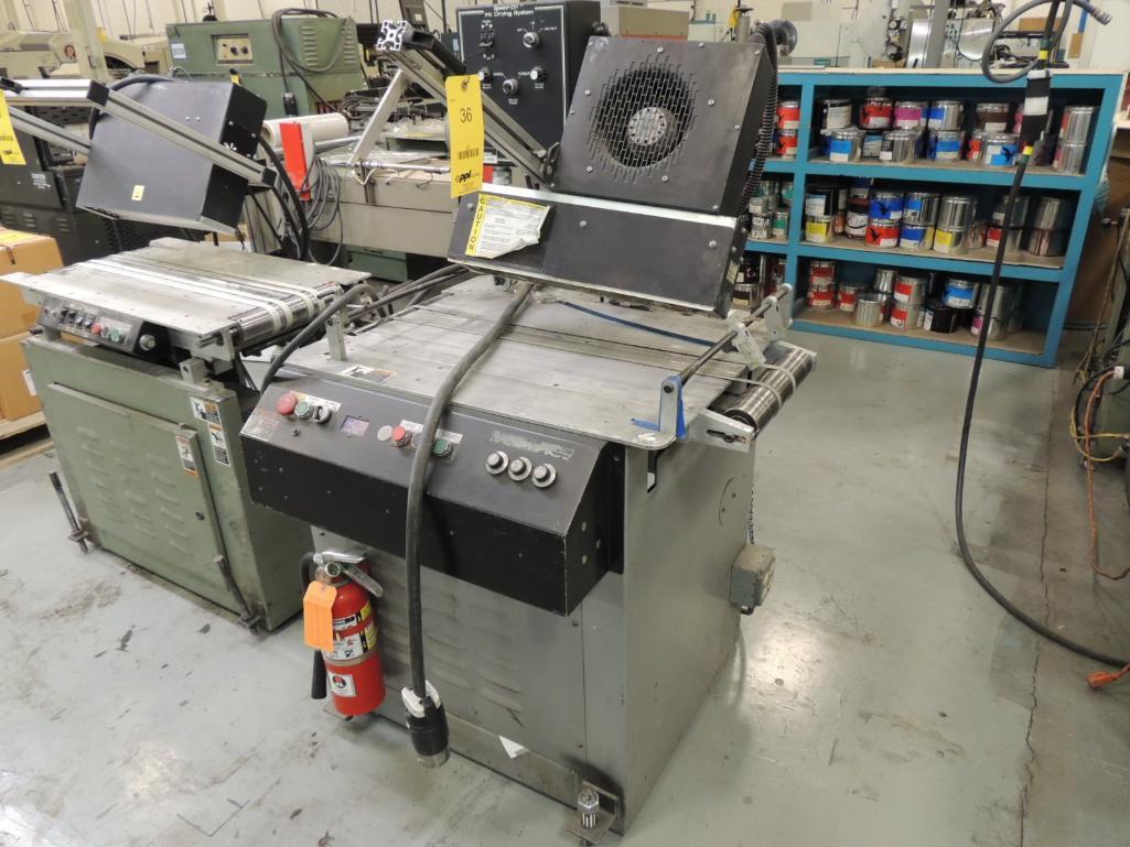 Lot 36 - Speed-Dri Drying Unit Model 4560 On Kirk Rudy Base Model 219V, S/N 898-310