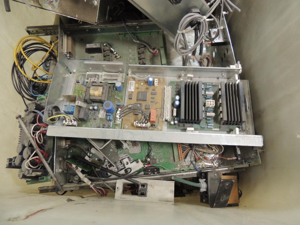 Lot 48 - LOT: Bell and Howell Misc. Parts. Drive Motors, Circuit Boards, Belts, Pocket Parts, Sensors ECT