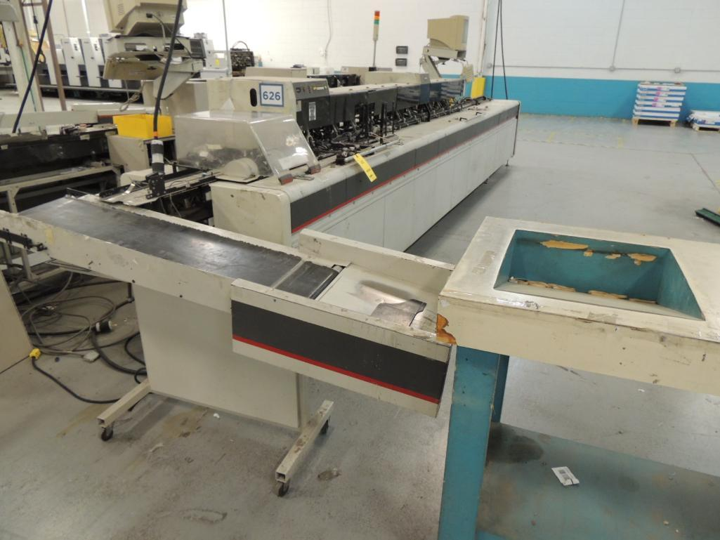Lot 40 - Bell and Howell Mailstar 400- C10 Inserter, 10 Pocket, 6 in. x 9 in. Capacity, S/N 48-2659, Configur