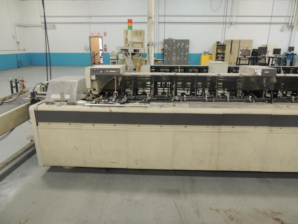 Lot 41 - Bell and Howell Mailstar 400- C10 Inserter, 10 Pocket, 6 in. x 9 in. Capacity, S/N 414609, Configure