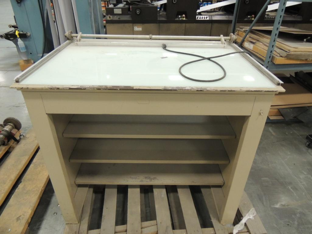 Lot 23 - Foster Light Table 30 in. x 40 in.