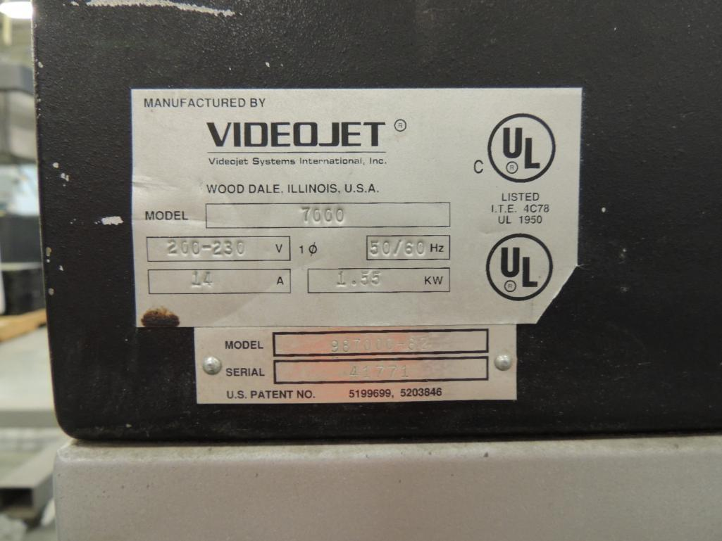 Lot 33A - Cheshire Model 7000 Jet Stream 2 Mailing Base S/N 41771 with Conveyor