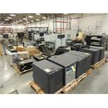 LOT: Kodak Versamark Inkjet Components, (9) Kodak DT90 Inkjet Print Stations, (6) DH90 Print Heads,