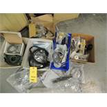 Misc. Flowmaster Parts, Pocket Feed Belts, Outfeed Table Motor, Chain, Flow Valves, Bearings, Shady