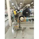 Label Aire Labeler, Model 2111CD on Roll-Away Base