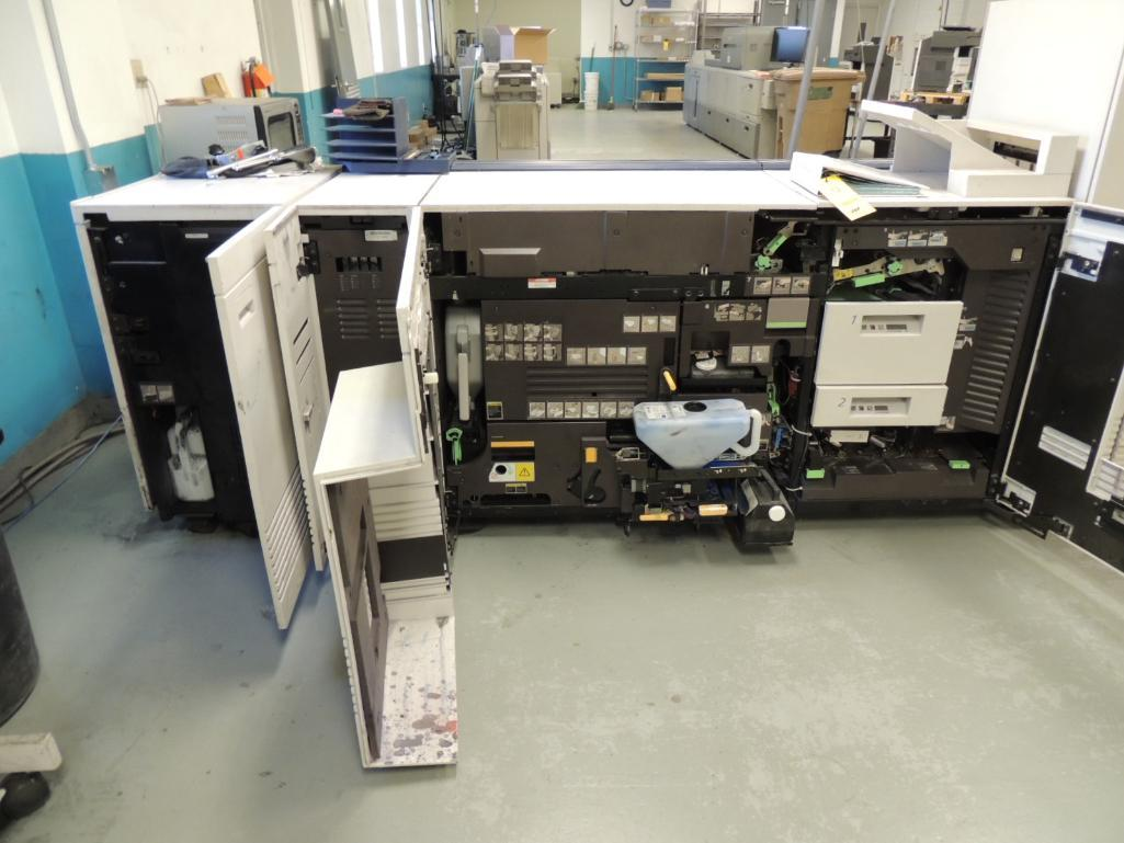 Lot 12 - Xerox DocuTech 180 HLCPrinter, Digital, Black and White, 4-Paper Drawers, 14 in. x 17 in. Capacity,