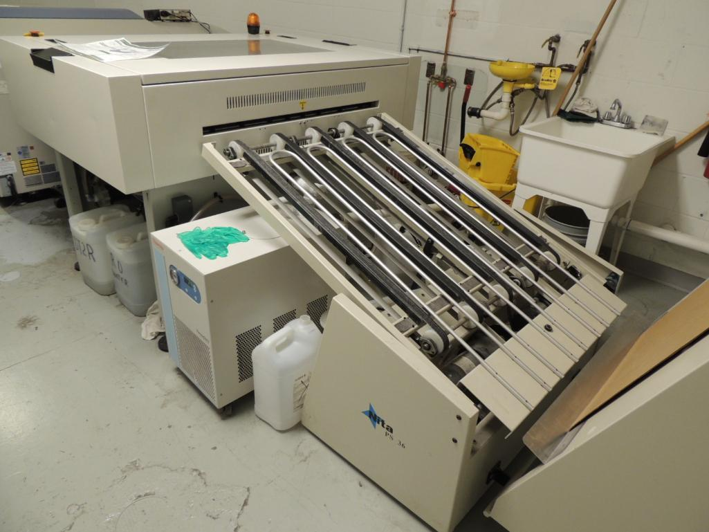 Lot 24 - LOT: Fujifilm / Screen Computer To Plate System. Configured With Fujifilm Model MA-L4300II Multi- Ca