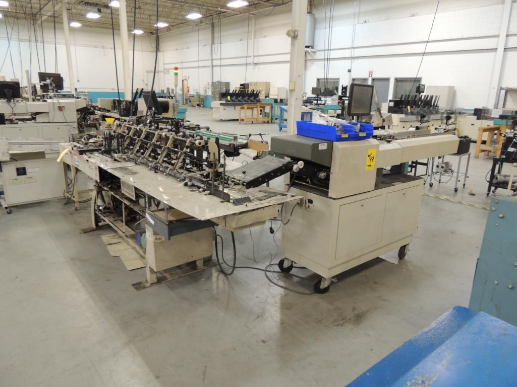 Lot 47 - Bell and Howell A340-C6 Inserting System. 6 In x 9 in. 6 Pocket Inserter, S/N 97090464, Configured W