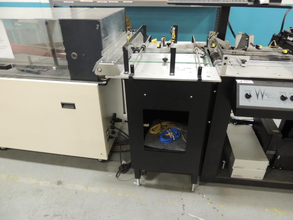 Lot 26 - 2011 Pitney Bowes Finishing Inserting / Addressing System. W/ Pitney Bowes Flowmaster Rsservo Driven