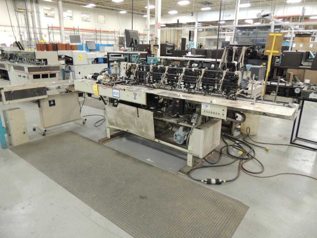 Lot 46 - Bell and Howell A340-C6 Inserting System. 6 in. x 9 in. 6 Pocket Inserter, S/N 1892, Configured with