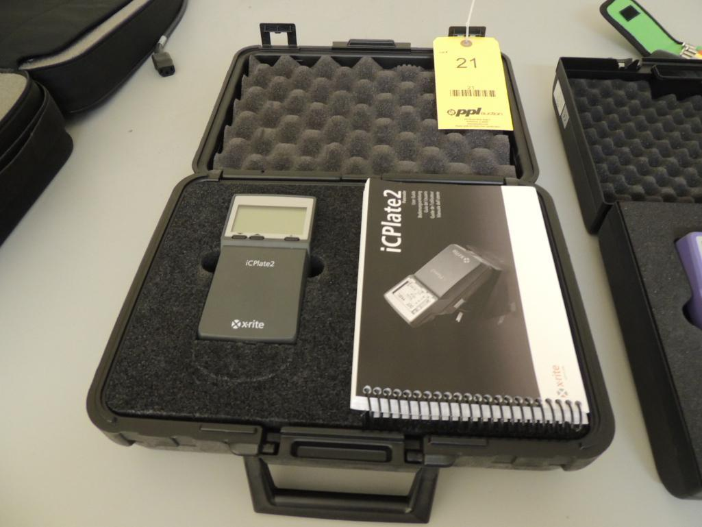 Lot 21 - X-Rite IC-Plate ll Plate Reader