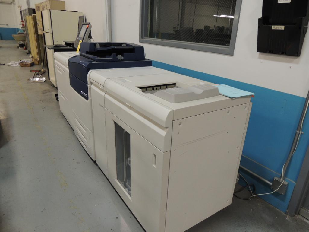 Lot 15 - Xerox Versant 80 Printer, Digital, Color, 6-Paper Drawers, 80ppm, 13 in. x 19 in. Capacity S/N B2R09