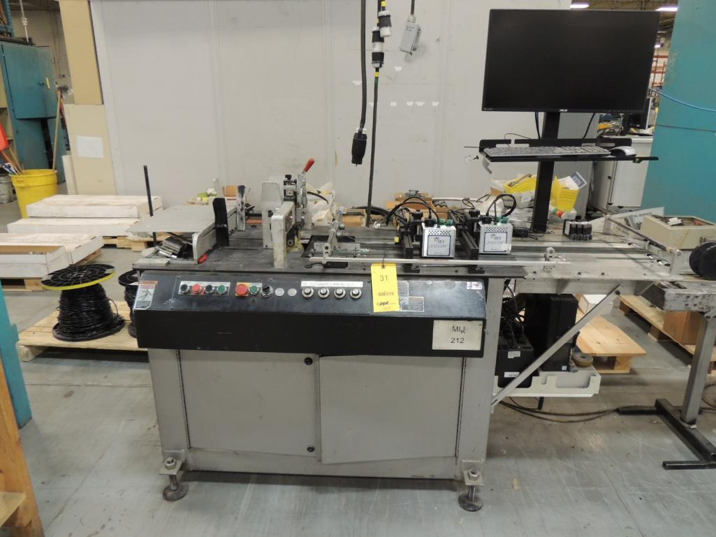 Lot 31 - Inkjetting Addressing / Mailing System. Configured With Kirk Rudy Model 215V Mailing Base S/N 898-48