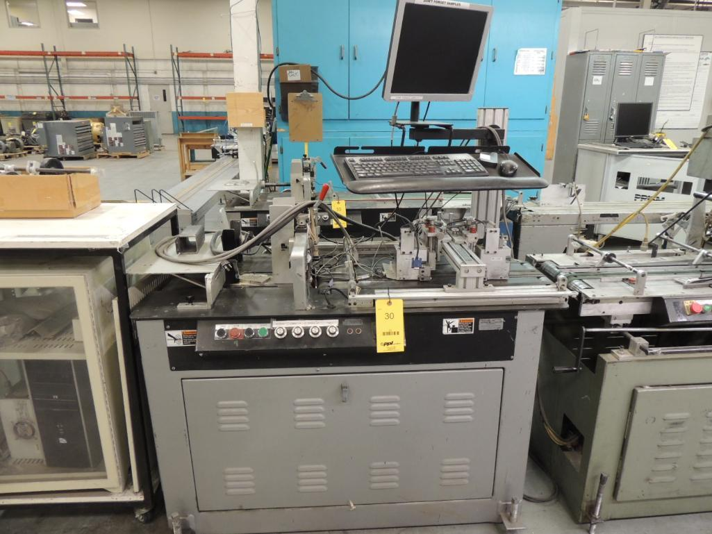 Lot 30 - Inkjetting Addressing / Mailing System. Configured With Kirk Rudy Model 215V Mailing Base S/N 895-38