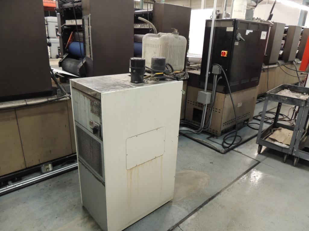 Lot 2 - LOT: Didde ML 1000 Printing Offset Press, 8-Color, 20 in. Web Width x 22 in. Cutoff, Kodak Versamark