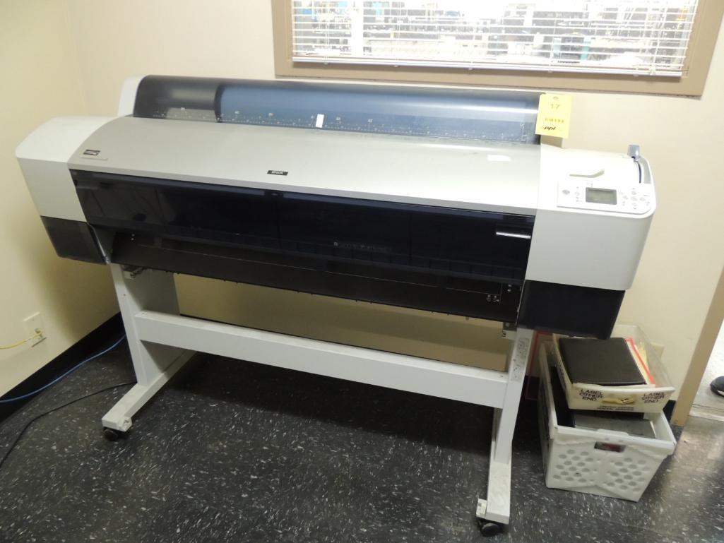 Lot 17 - Epson Stylus Pro 9800 Printer, Model K132A, S/N GLS0023301