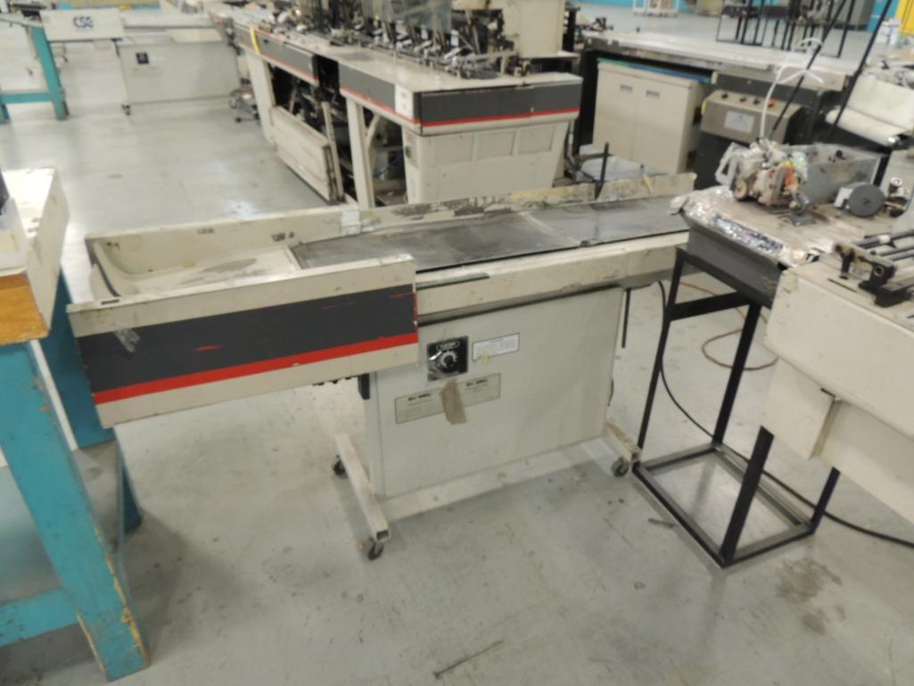 Lot 42 - Bell and Howell A297-C4 Master Mailer Inserter, 4 Pocket, 9 in. x 12 in. Capacity, S/N 33-531, Confi