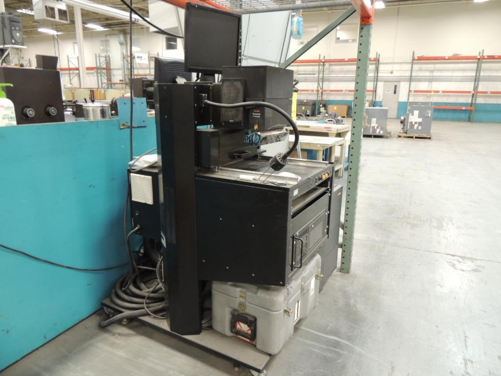 Lot 5 - Kodak Versamark DT-23 Recovery Station, S/N 2008111301, with Scitex 9000 Series Print Station, for I
