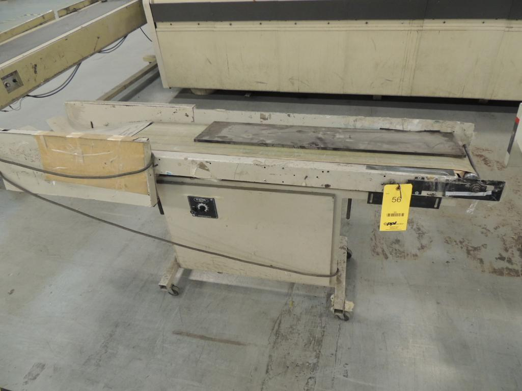 Lot 56 - Bell and Howell 60 in. Standard Conveyor