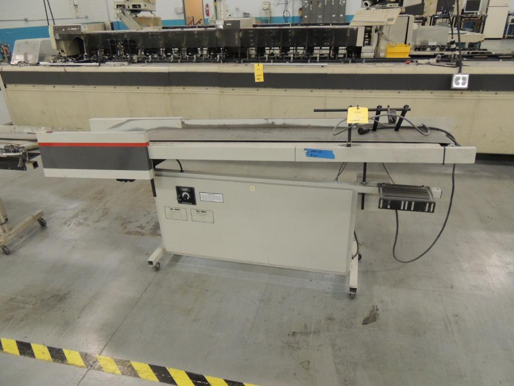 Lot 55 - Bell and Howell 75 in. Standard Conveyor