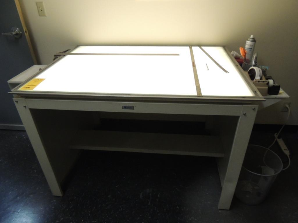 Lot 22 - Foster Light Table 35 in. x 50 in.