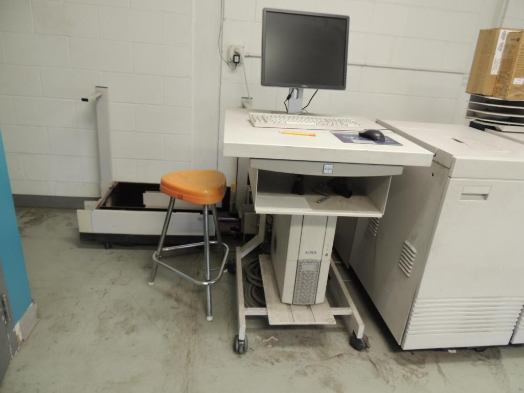 Lot 14 - Xerox Docutech 180 HLC Printer, Digital, Black And White, 6-Paper Drawers, 14 in. x 17 in. Capacity,