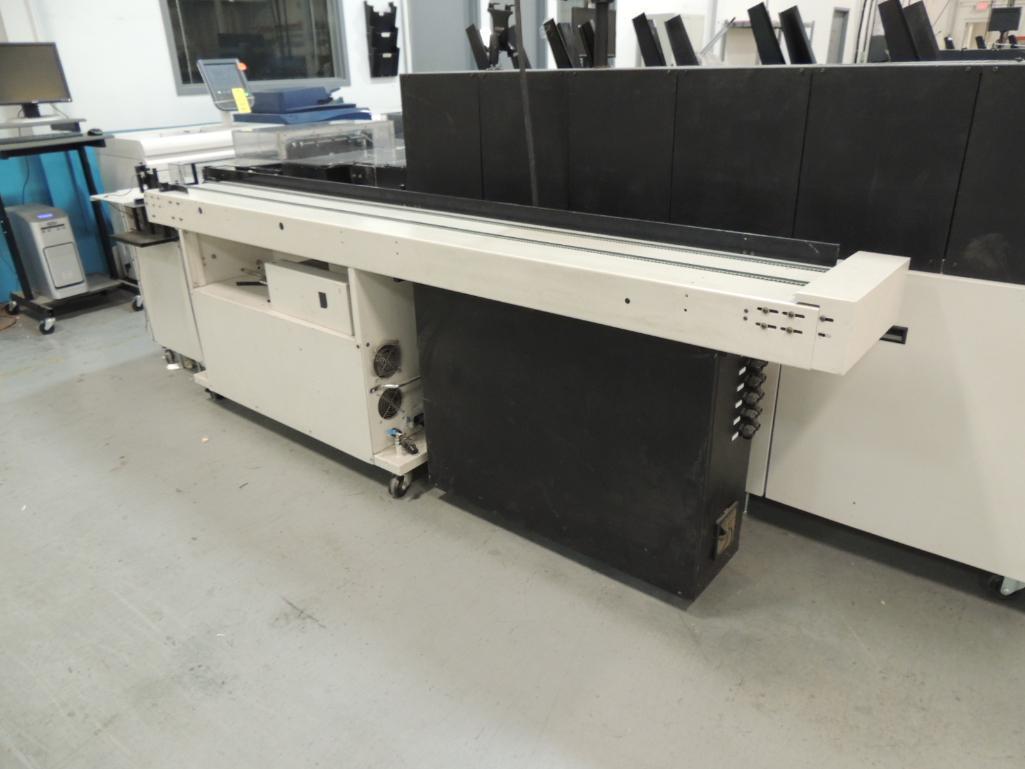 Lot 25 - 2007 Pitney Bowes Finishing Inserting / Addressing System. W/ Pitney Bowes Flowmaster RS Servo Drive