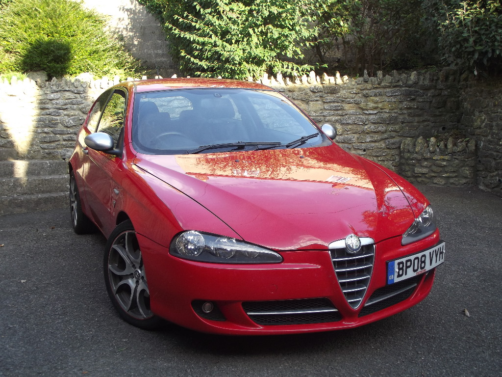 A 2008 Alfa Romeo 147 Ducati Corse Q2 Jtdm 16v Registration Number Bp08 Vyh Red This Limited E
