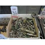 LOT - LARGE QUANTITY OF END MILLS AND ASSORTED CUTTING TOOLS
