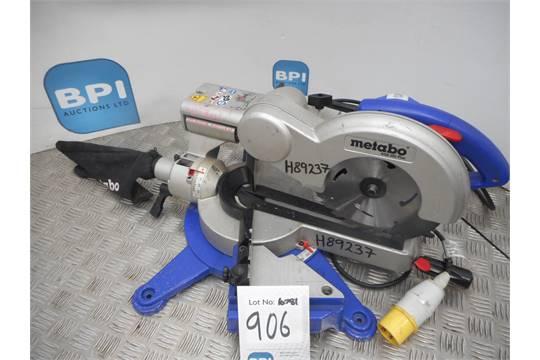 Wonderbaarlijk METABO KGS 255 PLUS {037005} MITRE SAW - 110V Tested and is in JT-71