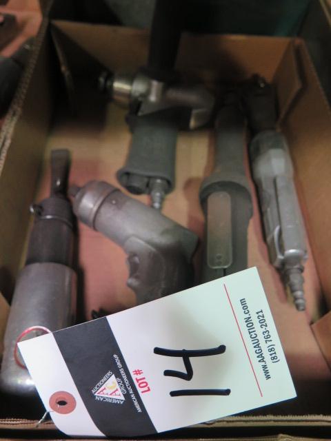 Lot 14 - Misc Pneumatic Tools