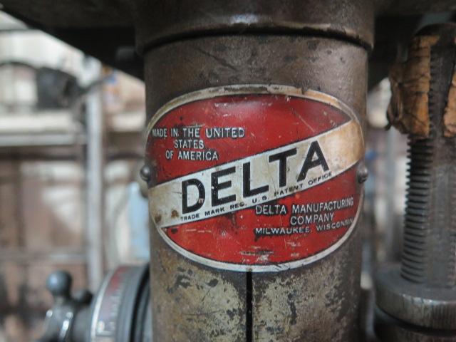 Lot 194 - Delta Pedestal Drill Press w/ Procunier Tapping Head