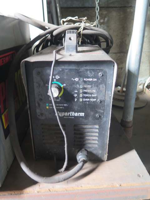 Lot 211 - Thermal Dynamics PAKmaster100XL and Hypertherm Powermax 350 Plasma Cutting Power Sources (2)