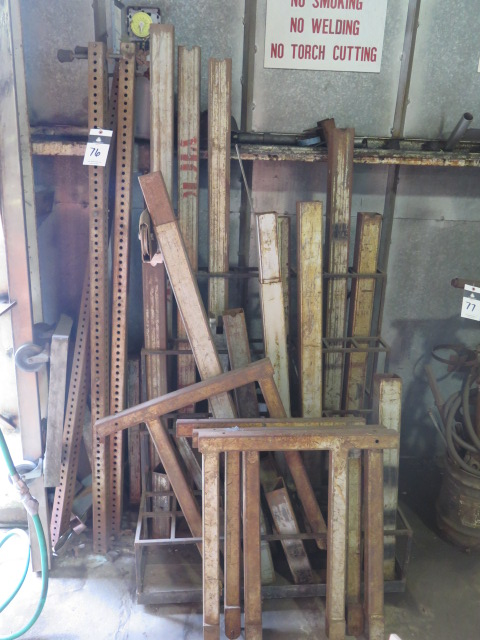 Lot 76 - Vermette Lift Extensions w/ Rack