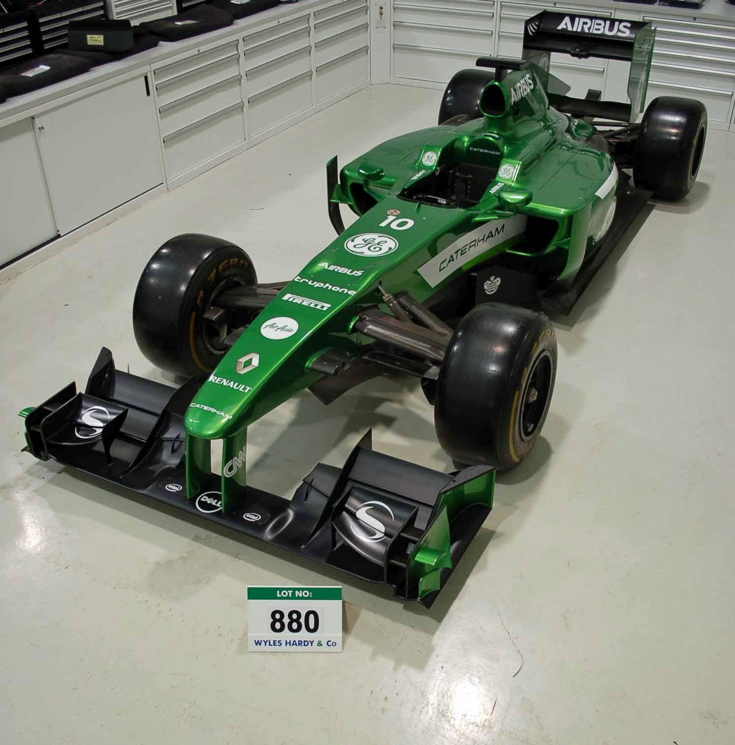 A Lotus Racing Formula 1 Full Racing Chassis Show Car