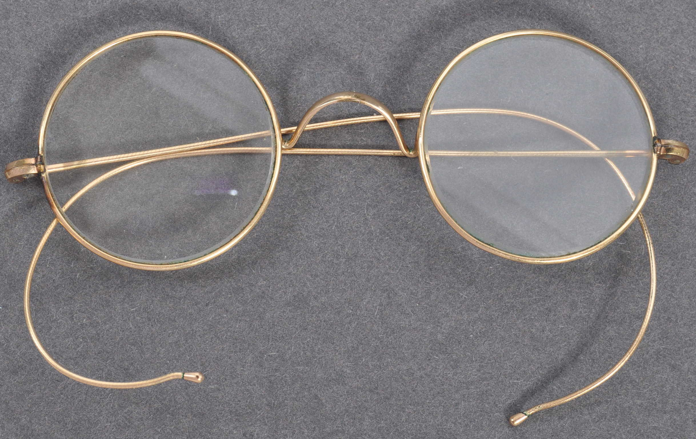 PAIR OF MATHATMA GANDHI'S PERSONAL SPECTACLES - Image 2 of 7