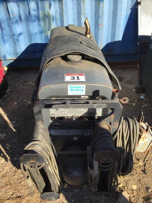 Lincoln SA200 Gas Welder w/Cables sn A-193371
