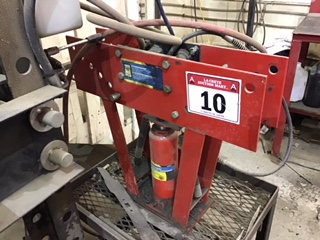 Lot 10 - Power Fist 16 Ton Pipe Bender
