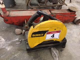 Lot 4 - Dewalt Chop Saw